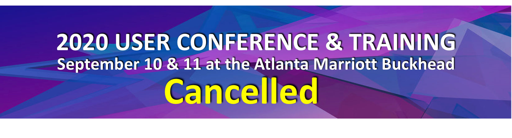 2020 User Conf Cancelled Graphic 2