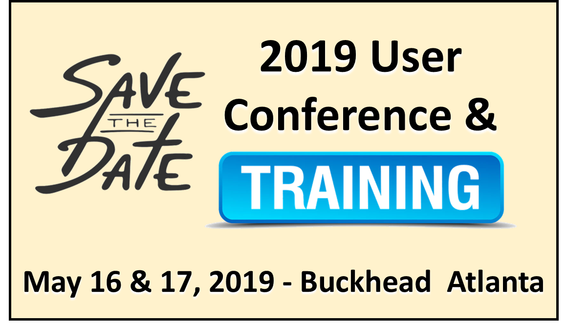 Save the date User Conf graphic 4
