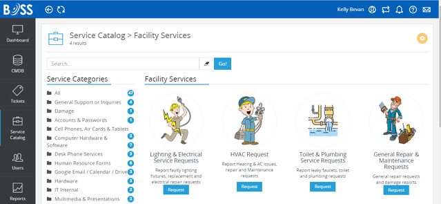 School Facility Service Catalog 2